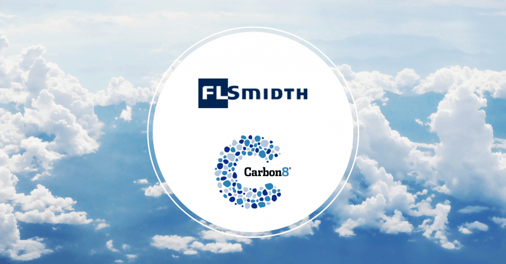 FLSmidth and Carbon8 Systems sign technology partnership to accelerate carbon capture in global cement industry.